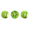 Sequins Round 10mm Aprx 450pcs Hologram Lime Green